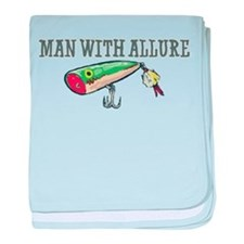 Man With Allure baby blanket