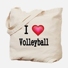 I LOVE MY VOLLEYBALL Tote Bag