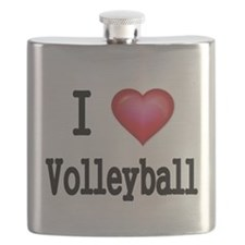 I LOVE MY VOLLEYBALL Flask