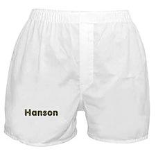 Hanson Army Boxer Shorts