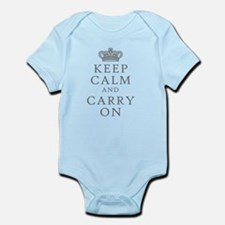 Keep Clam And Carry On Body Suit