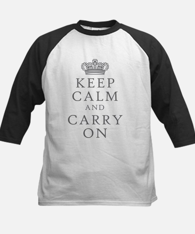 Keep Clam And Carry On Baseball Jersey