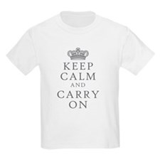 Keep Clam And Carry On T-Shirt