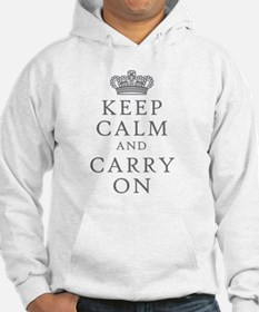 Keep Clam And Carry On Hoodie