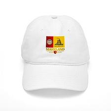 Maryland Gadsden Flag Baseball Baseball Cap