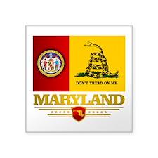 Maryland Gadsden Flag Sticker