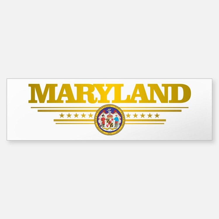 Maryland Gadsden Flag Bumper Bumper Bumper Sticker