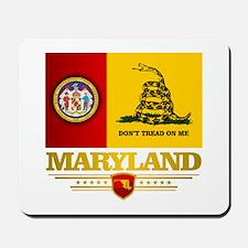 Maryland Gadsden Flag Mousepad