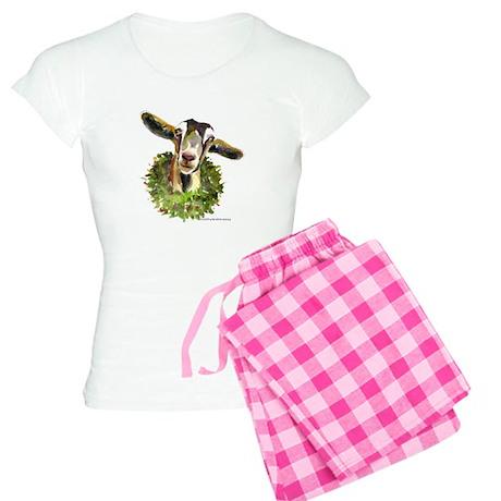 Christmas Goat Women's Light Pajamas