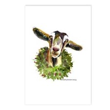 Christmas Goat Postcards (Package of 8)