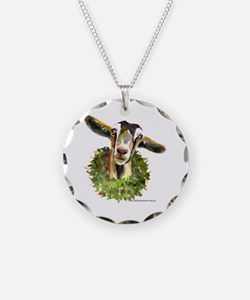 Christmas Goat Necklace