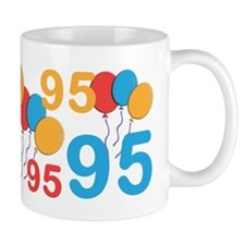 95 Years Old - 95th Birthday Small Mugs