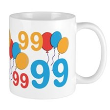 99 Years Old - 99th Birthday Small Mugs