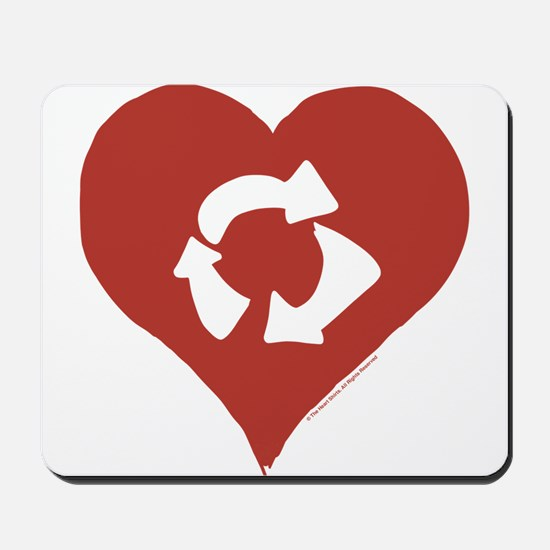 Love - Recycle Mousepad