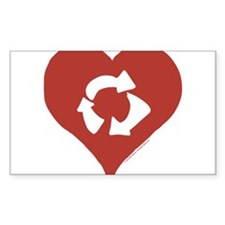 Love - Recycle Decal