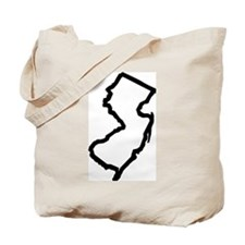 Jersey Outline Tote Bag