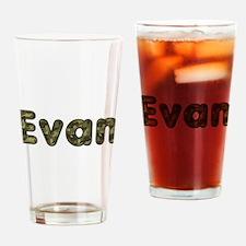 Evan Army Drinking Glass