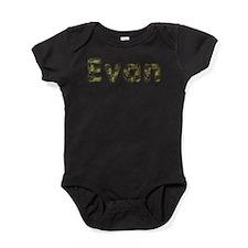 Evan Army Baby Bodysuit