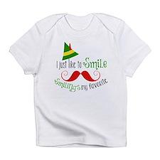 Smilings my favorite Infant T-Shirt