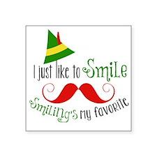 Smilings my favorite Sticker