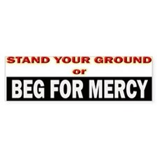 Stand Your Ground Bumper Bumper Sticker