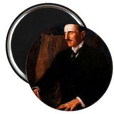Nikola Tesla - the Blue Portrait Magnet