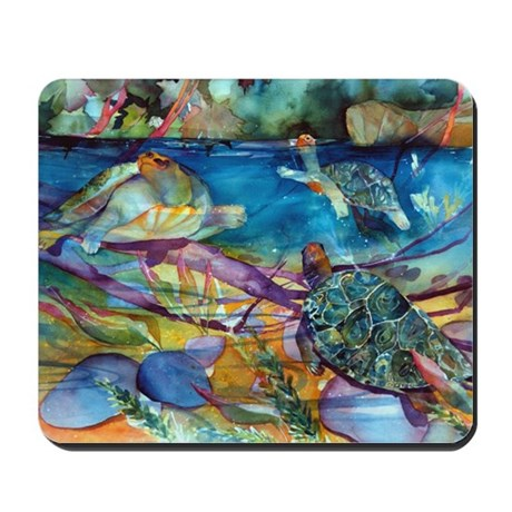 Turtles Mousepad