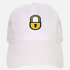 Closed Padlock Baseball Baseball Cap