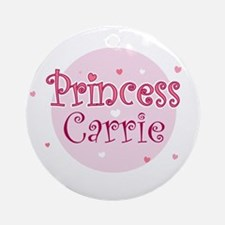 Carrie Ornament (Round)