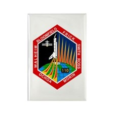 STS-110 Atlantis Rectangle Magnet