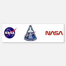 STS-111 Endeavour Bumper Bumper Sticker