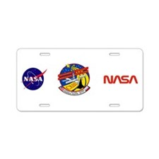 Columbia STS-113 Aluminum License Plate