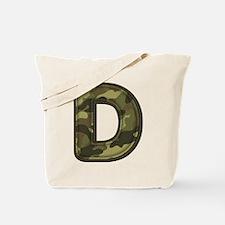 D Army Tote Bag