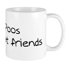 Shih-Poos make friends Mug