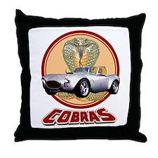 COBRAS Throw Pillow