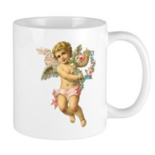 Cute Vintage Victorian Angel /Cherub Mug