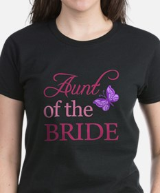 Aunt Of The Bride (Butterfly) Tee