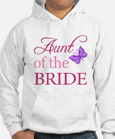 Aunt Of The Bride (Butterfly) Hoodie
