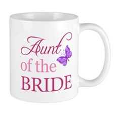 Aunt Of The Bride (Butterfly) Mug