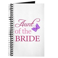 Aunt Of The Bride (Butterfly) Journal