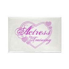 Actress-In-Training Design I Rectangle Magnet