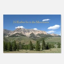 Rather be in the Mountains Postcards (Package of 8