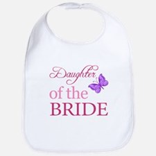 Daughter Of The Bride (Butterfly) Bib