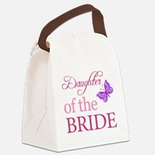 Daughter Of The Bride (Butterfly) Canvas Lunch Bag