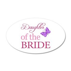 Daughter Of The Bride (Butterfly) Wall Decal