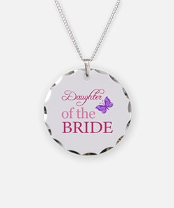 Daughter Of The Bride (Butterfly) Necklace Circle