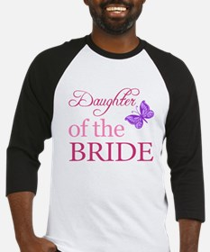Daughter Of The Bride (Butterfly) Baseball Jersey