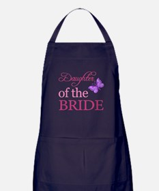 Daughter Of The Bride (Butterfly) Apron (dark)