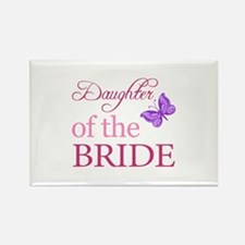 Daughter Of The Bride (Butterfly) Rectangle Magnet
