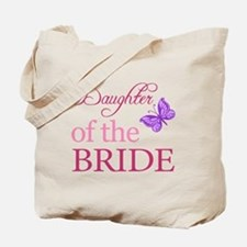 Daughter Of The Bride (Butterfly) Tote Bag
